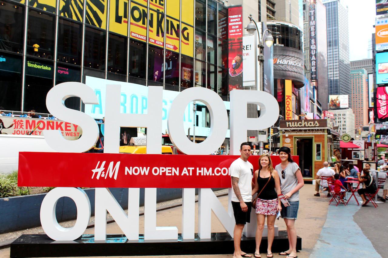 H&M POP UP SHOP PERMITTING