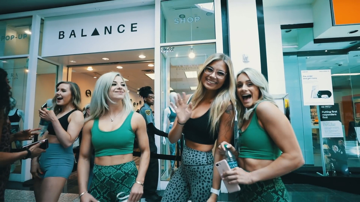 POP UP SHOPS AND INFLUENCER EVENTS