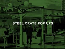 steel crate pop ups