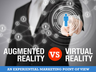Augmented Reality vs Virtual Reality: An Experiential Marketing Point of View