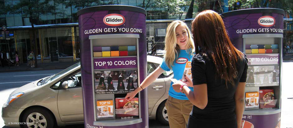experiential marketing street teams