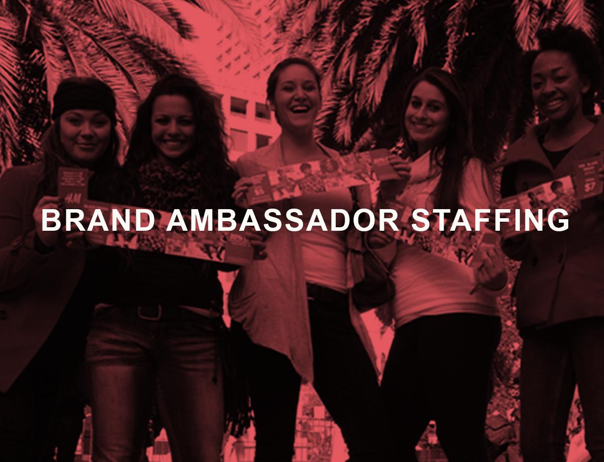 brand ambassador staffing