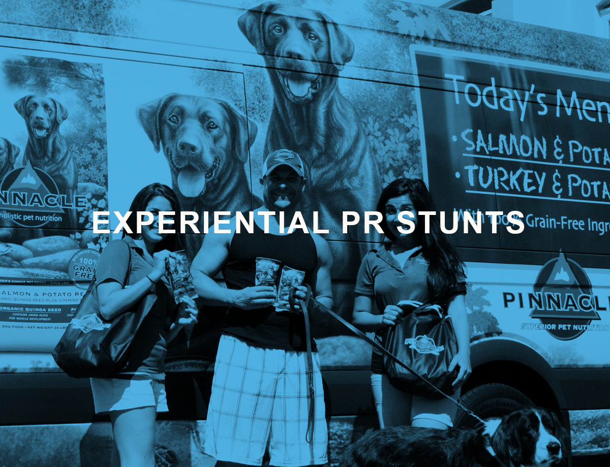 experiential marketing PR STUNTS