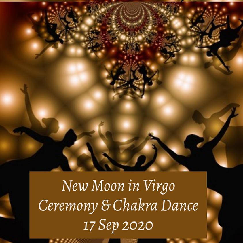 New Moon in Virgo Ceremony & Chakra Dance