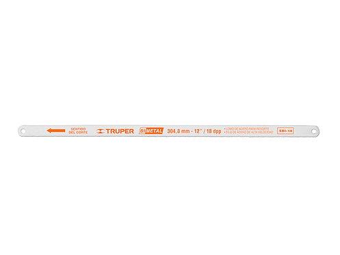 Полотно для ножовки 18TPI 2 штуки SBI-18/2 TRUPER