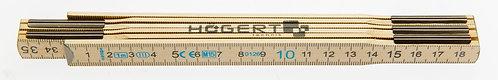 Метр складной деревянный 1м HOEGERT  HT4M261