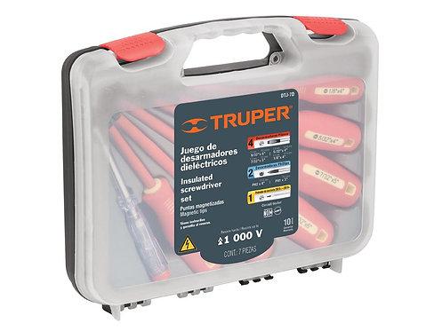 Набор диэлектрических отверток 7 шт. DTJ-7D TRUPER  14196