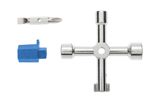 Ключ для электрошкафов, 76 мм HOEGERT  HT1W760