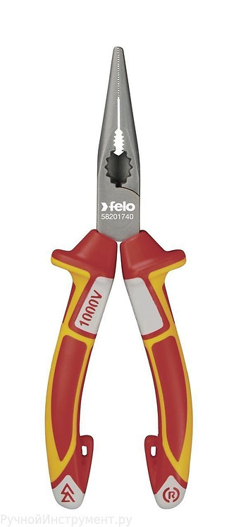 Длинногубцы с резцом диэлектрические 170 мм Felo 58201740