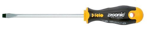 Отвертка плоская шлицевая Ergonic 2,5X0,4X75 Felo 40002210