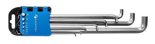 Шестигранные ключи, длинные HOEGERT