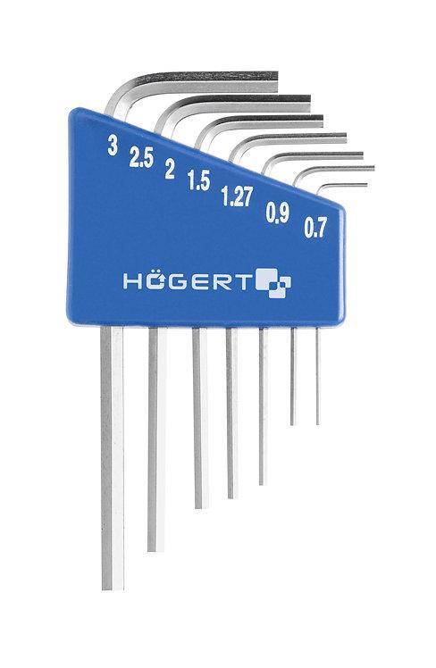 Шестигранные ключи для точных работ HOEGERT HT1W800