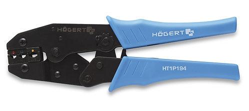 Клещи для обжима изол-ных нак-в 0.5 до 6.0 мм2 (20-10 AWГ) HOEGERT HT1P194