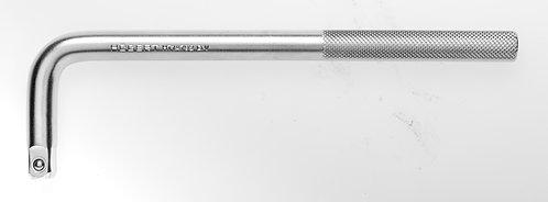 """Вороток Г-образный 1/2"""", 250 мм, CrV HOEGERT  HT1A792"""