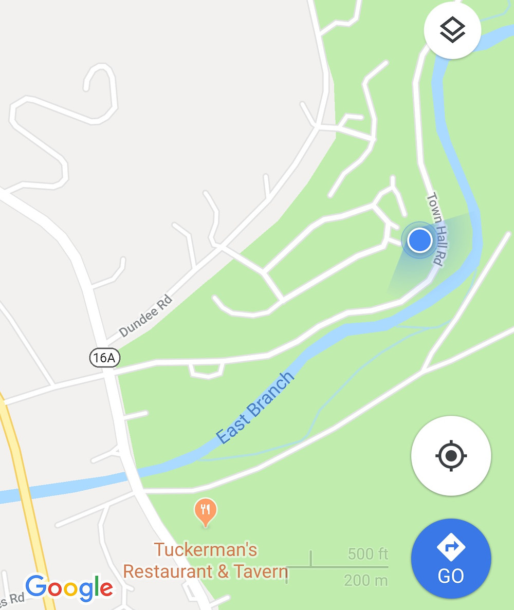Location on Maps