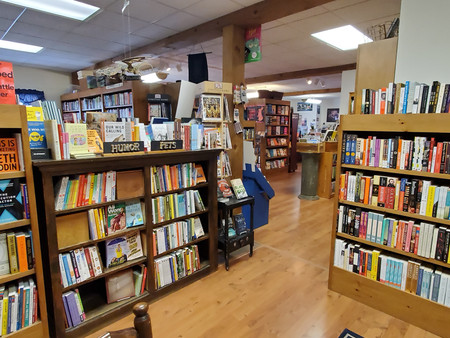 The small-town bookstore with the big-town selection.
