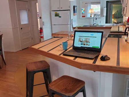 Work Remotely in a Wooded Setting
