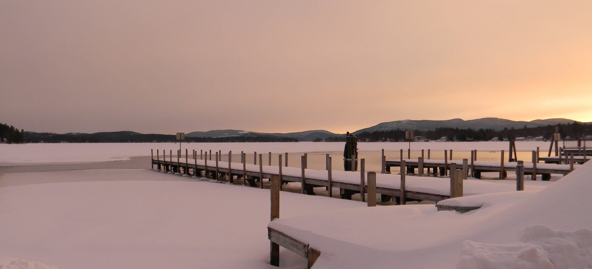 winter wolfeboro bay