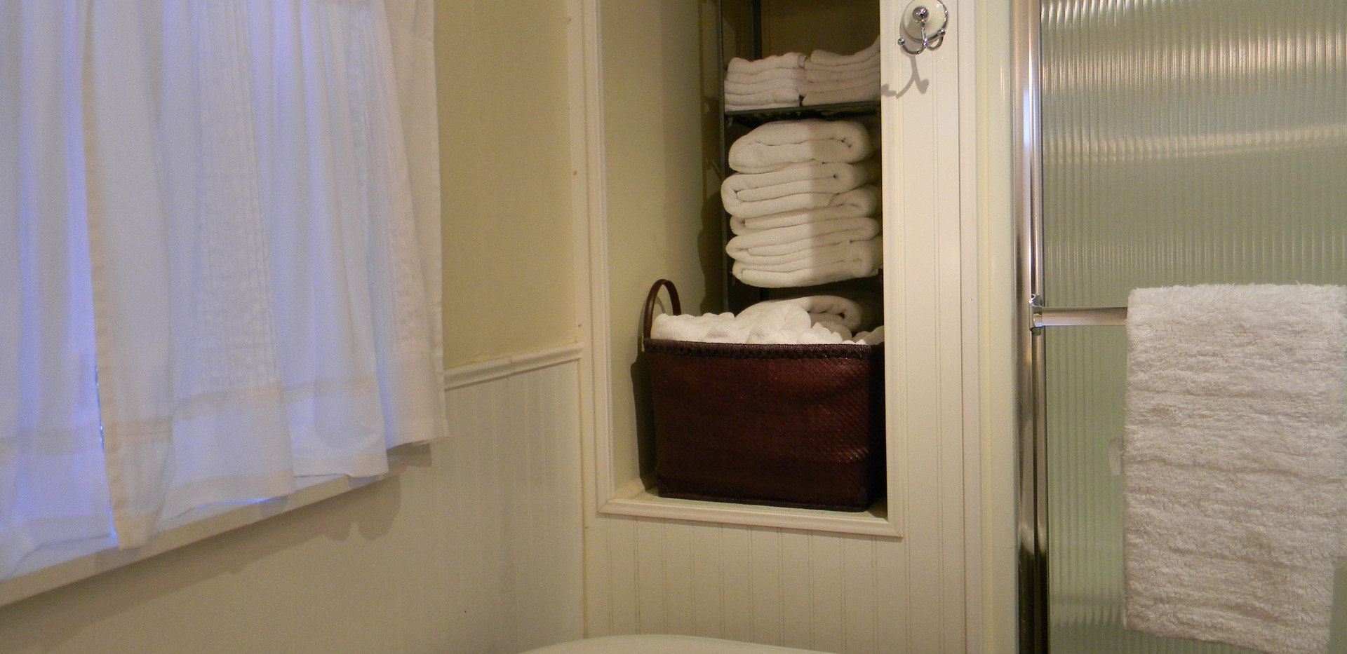 Stocked with Towels