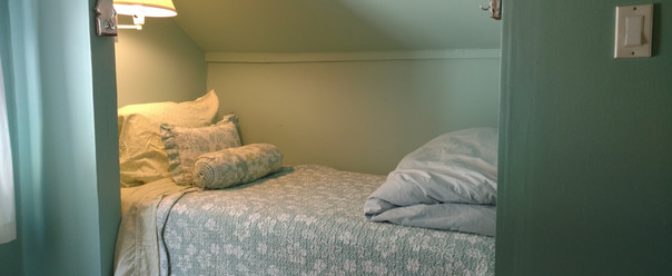 Twin Bed in Cozy Alcove