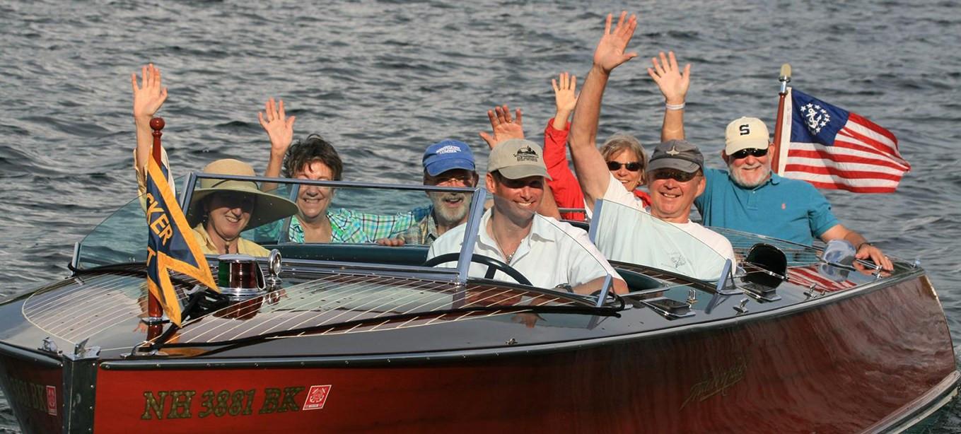 boat rides on winnipesaukee