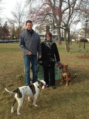Tom, Julie & doggies