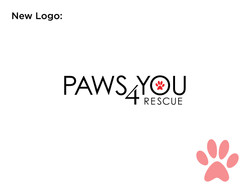 Paws4You New Logo