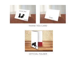 Thank You Cards & Official Folder