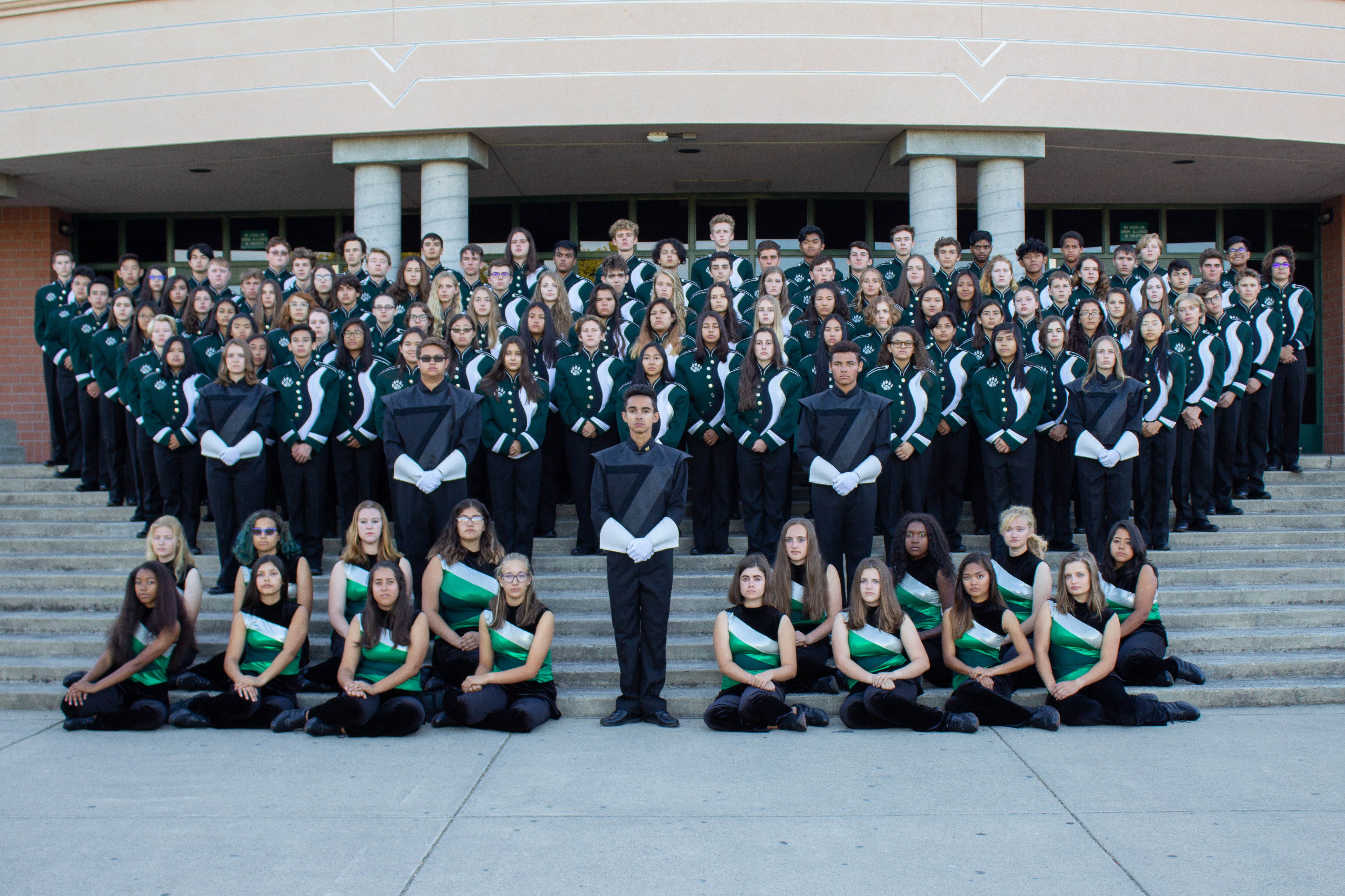 2019 Marching Band Group Photo