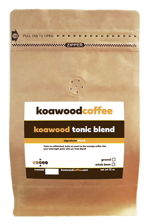 Koawood Tonic Blend