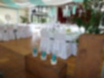 Gestaltung der Hochzeit und Dekoration