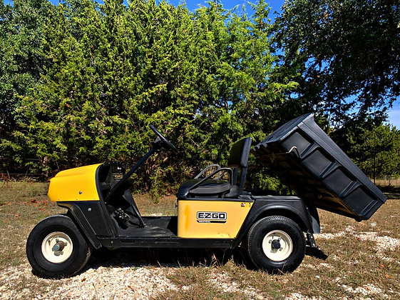2005 EZGO Industrial Gas Powered - SOLD
