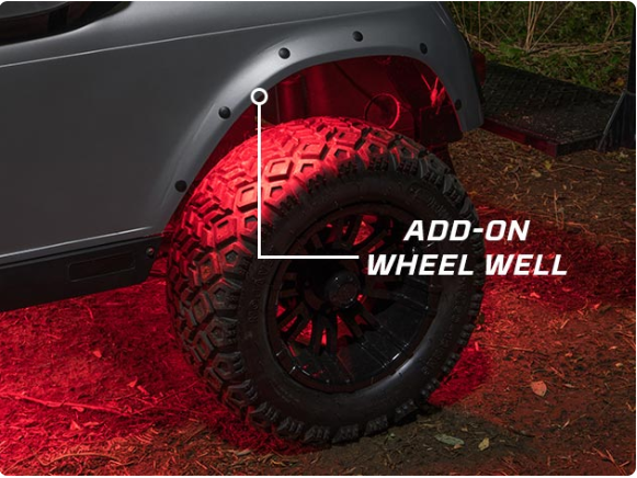 Wheel Well LED Glow Lights