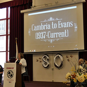 Evans' 80th Anniversary