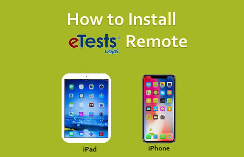 How to Install eTests Remote - iPhone and iPad Version