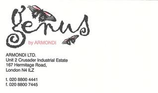 GENUS business card
