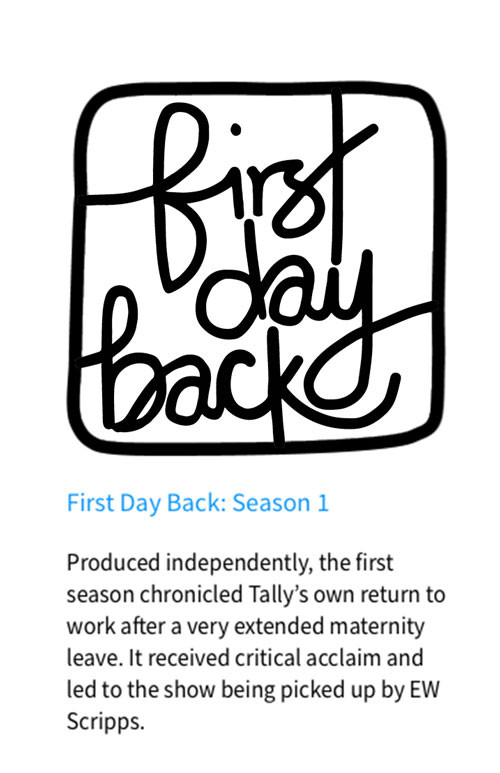 FIRST DAY BACK season one logo