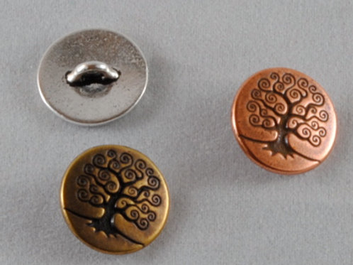 Button, pewter
