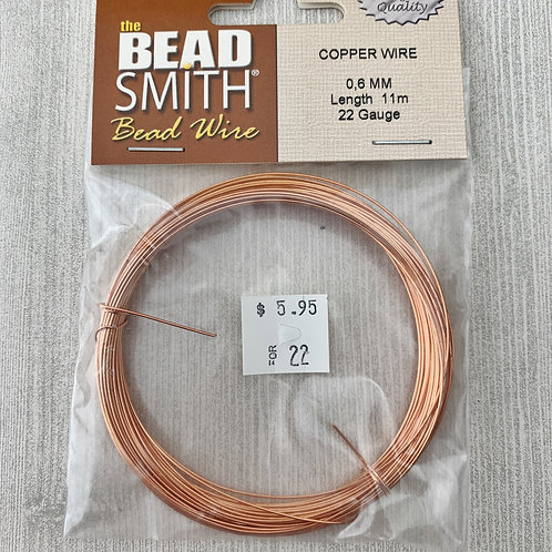 Copper Wire Solid German 12g - 26g