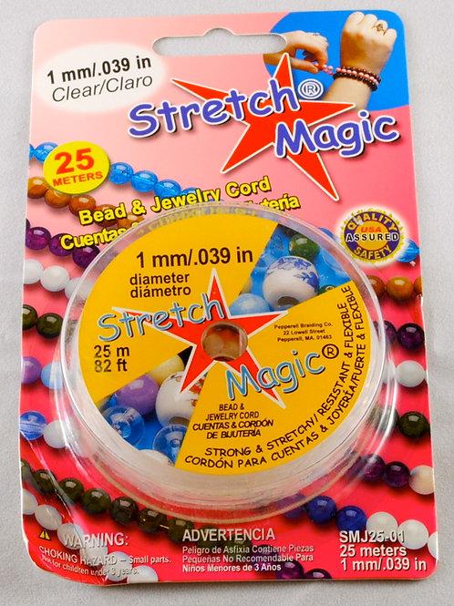 Stretch Magic Elastic Cord 1.0mm (25 meters)