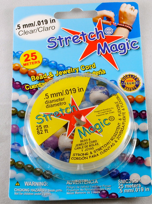 Stretch Magic Elastic Cord 0.5mm (25 meters)