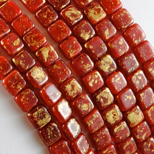 Two hole Tile beads