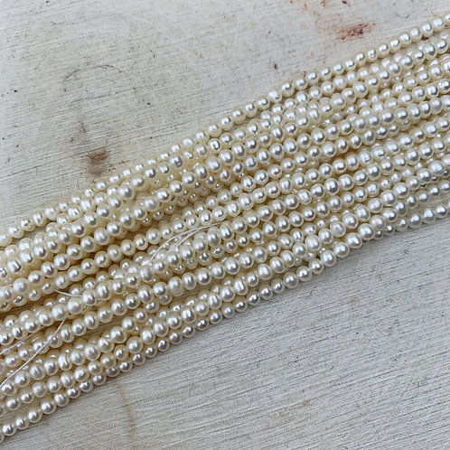 Freshwater Pearl 3mm Strand