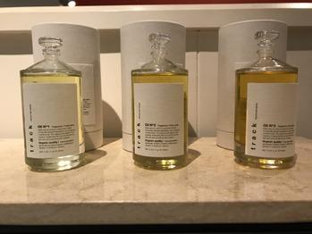 ベージュカラーに大人気のtrack oil