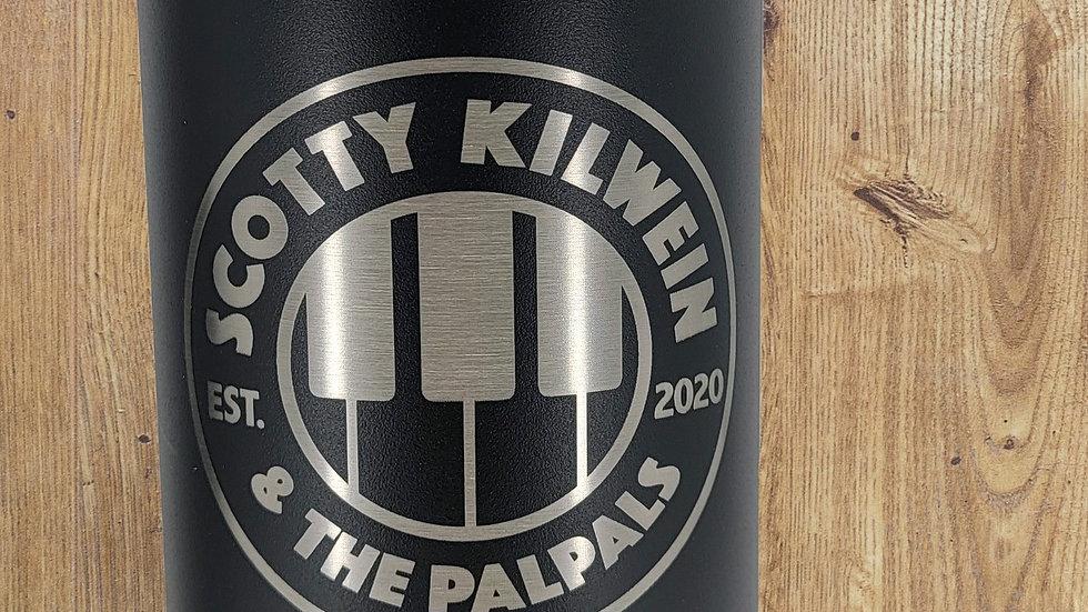Scott Kilwein and the Palpals water bottle