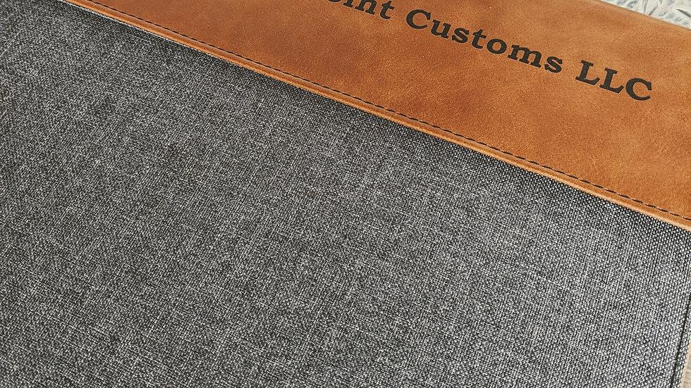 Leatherette Portfolio