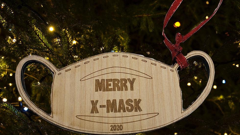 Merry X-mask Christmas Ornament