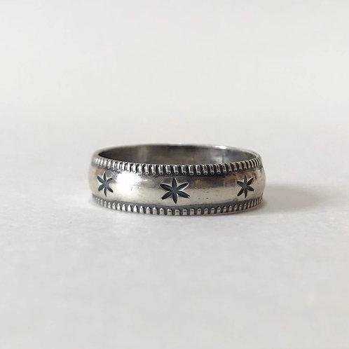 FIRECRACKER sterling silver ring