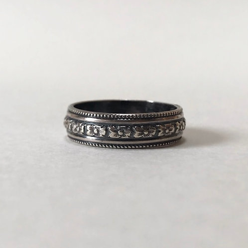 DOGWOOD sterling silver ring