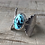 Thumbnail: GINGKO Turquoise hand carved leaf ring